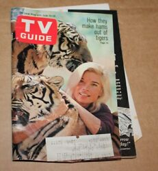 TV Guide 62268 William Shatner Animal Actors Peyton Place's Back Drop