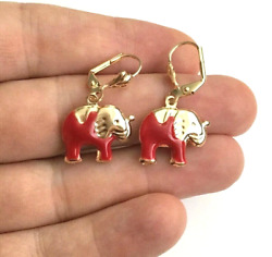 14K GOLD FILLED ARETES -YELLOW  HOOP EARRINGS 43mm            #1