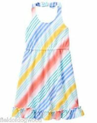 NWT Gymboree Tropical breeze halter Dress 456781012 Girls