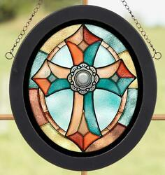 Cross Stained Glass Art $29.95