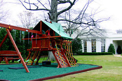 1 Full Pallet of Playground Rubber GREEN $529.00