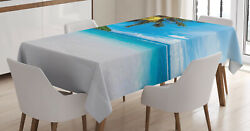 Exotic Tablecloth Ambesonne 3 Sizes Rectangular Table Cover Decor