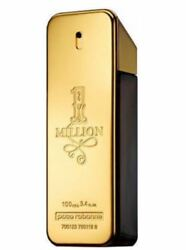 ONE MILLION Perfume BY PACO RABANNE For Men 100 ML EDT 3.4 Oz Spray tester $49.99