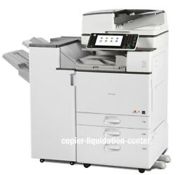 Ricoh MP C4503 MPC4503 Color Copier Finisher Stapler 45 ppm - Low Meter iu