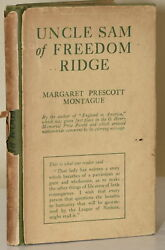 Margaret Prescott Montague UNCLE SAM OF FREEDOM RIDGE ASSOCIATION #280824 $84.00