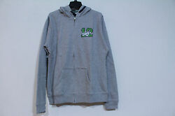 LADY 12 HOODIE FULL ZIP SIZE L HEATHER GREY NWT $9.18