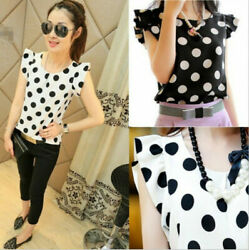 Women's Casual Chiffon Blouse Short Sleeve Shirt T-shirt Summer Tops Fashion $7.78