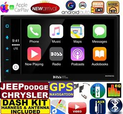 2007 amp; UP CHRYSLER JEEP DODGE NAVIGATION APPLE CARPLAY ANDROID AUTO STEREO $299.99