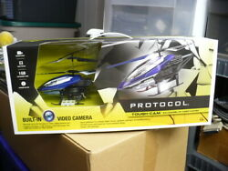 Radio Controlled Helicopter with Tough Cam New and sealed in box $75.00