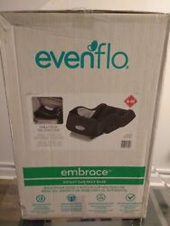 Evenflo Embrace Infant Car Seat Base Black Quick release Button Baby Safety Care $84.99