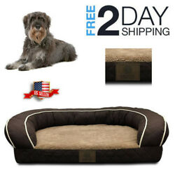 Orthopedic Dog Bed Lounge Sofa Removable Washable Large Breeds Floor Couch Soft $112.99