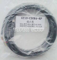 1PC GT10 C30R4 8P 3Meter for Mitsubishi touch screen GT1030 communication line $26.00
