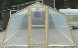 New Greenhouse Kit. 12' x 12' Complete Kit. *Local pick-up only* Maine.