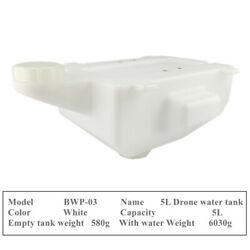 DIY 5L Water Tank 5KG Pesticide Liquid Tank for Agriculture UAV Drone Using $55.00