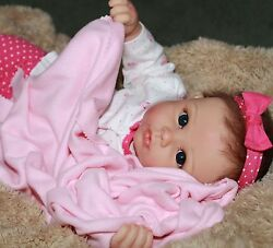 SO SO SWEET - She Really Holds Your Hand! 22 Inch Collectors Baby Girl Doll