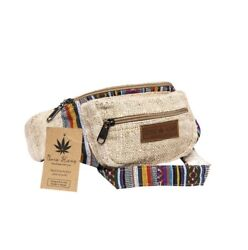 CoreHemp Fanny Pack Waist Hip Bag Handmade From Pure Hemp.