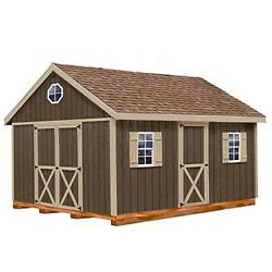 Woman Cave She Shed or Man Cave 12' x 20' w Hardware + Floor and 4 x 4 Runners