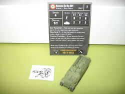 Axis & Allies Counter Offensive Romanian Sd Kfz 251 with card 47/50 $4.00