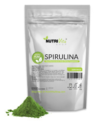 NVS 100% PURE SPIRULINA POWDER ALL NATURAL WEIGHT LOSS USP USA NONGMO ORGANIC $15.95