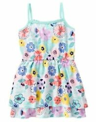 NWT Gymboree Tropical Breeze Floral Flower Dress Size 4 8 10 Girls