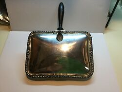 VINTAGE EPCA BRISTOL SILVER PLATE BY POOLE SILENT BUTLER #28
