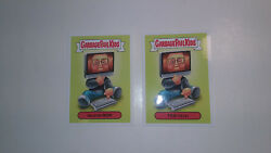 Topps Garbage Pail Kids GPK 2017 Prime Slime Awards Exclusive 2a 2b Set RON TED $5.99