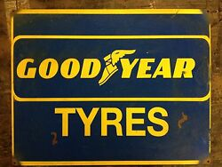 Goodyear Tyres advertising vintage retro signs repro wall art GBP 11.50