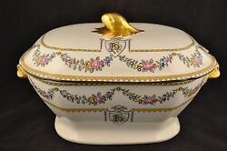 c 1890 COPELAND LATE SPODE Tureen Mortlock's Oxford St.                  ND2727