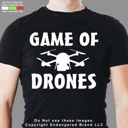 Drone Game of Drones DJI Yuneec Syma Mavic men#x27;s short sleeve T shirt $20.99
