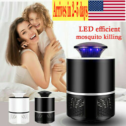 Electric Pest Control Mosquito Killer Lamp USB Trap LED Light Anti Bug Insect $7.59