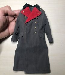 16 Scale Soldier WWII German General In North Africa Edition Overcoat Coat
