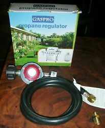 High Pressure Gas Regulator 4FT Adjustable Stove Propane Grill Replacement Parts