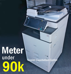 Ricoh MP C3003 MPC3003 Color Network Copier Print Fax Scan to Email 30 ppm fw