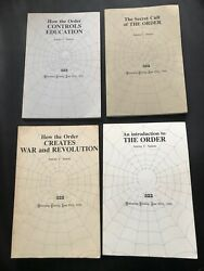 ANTONY SUTTON 1st Edition Paperback 4 Book Collection of The Order