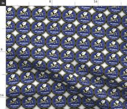 Seabees Fabric Printed by Spoonflower BTY