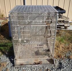 Heavy Duty Primate Cage Monkey Circus Veterinary Zoo Pet Store Exotic Animals