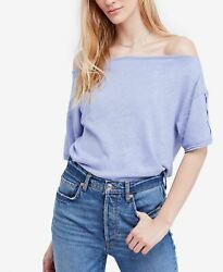 Free People She's So Cool blue M