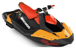 2019 Sea-Doo Spark Trixx 3up iBR Orange Crush and Chili Pepper with 1 available