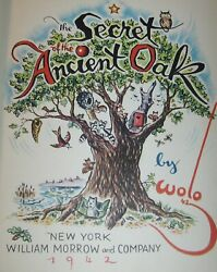 THE SECRET OF THE ANCIENT OAK : by Wolo : vintage : hardcover