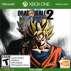 Dragon Ball Xenoverse 2 Xbox One Key Code US Only No CD DVD UNITED STATES $15.95