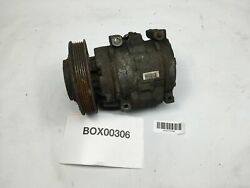2001 TOYOTA CELICA AC AIR COMPRESSOR CONDITIONER PUMP WITH PULLEY DENSO OEM+