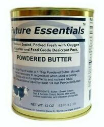 Canned Butter by Future Essentials Powdered Long Shelf Life Made in the USA