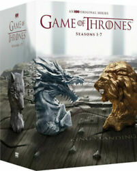 Game of Thrones: The Complete Seasons 1-7 DVD Set Season 1 2 3 4 5 6 7 NEW