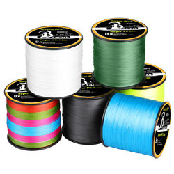 300 1000M Super Strong PE Spectra Braided Sea Fishing Line 4 8 Strands 12 100LB $4.99