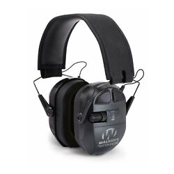 Walkers Game Ear Shooting Ultimate Power Muff Quads with AFT Electric Black $119.95