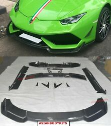 CARBON BODYKIT for Lamborghini Huracan LP610 2013-2016 front lip diffuser wing