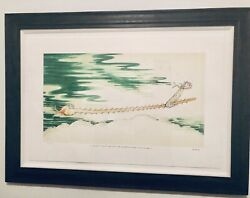 DR. SEUSS Sawfish With Such A Long Snout RARE Collaborators#x27; Proof w COA Framed $2400.00