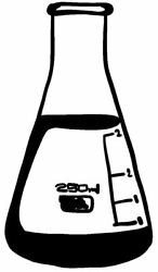 Conical Flask Vinyl Decal