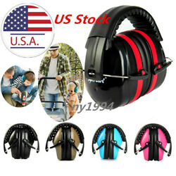 US OutdoorFoldable Shooters Hearing Protection Noise Reduction Safety Ear Muffs