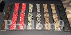 Gucci Louis Vuitton Apple Watch Band Leather iWatch Strap 38404244mm 1234